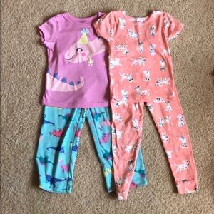Carter's Pajama Set: 2 sets for the price of one!
